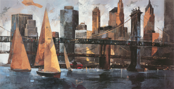 Sailboats-In-Manhattan