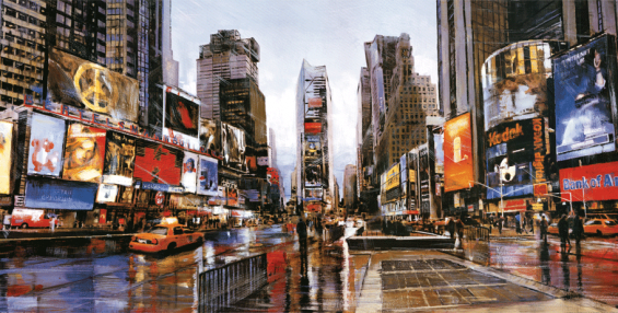 Evening-in-Times-Square