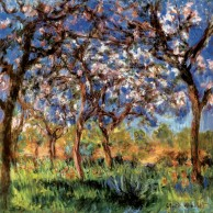 Spring-in-Giverny-Monet