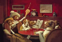 This Game Is Over Dog Poker 1903