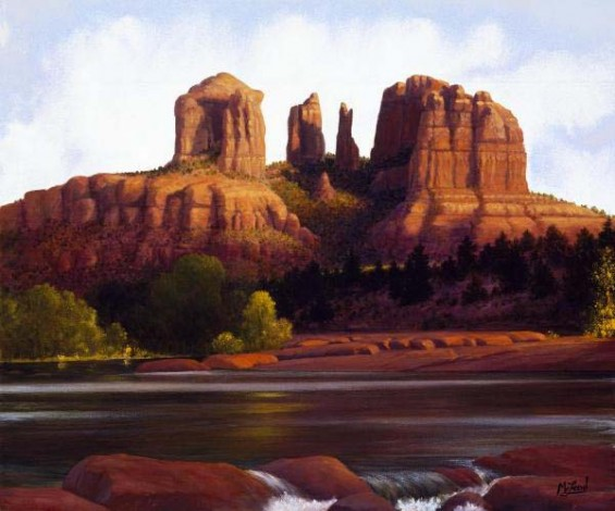 Red Rock Crossing (Giclee)