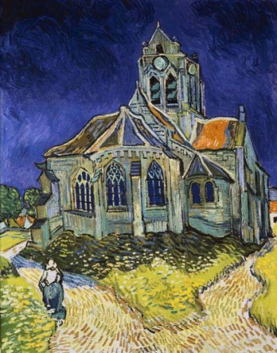 The Church at Auvers (Giclee)