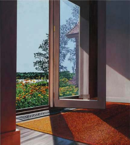 Small Flowered Doorway, 1996