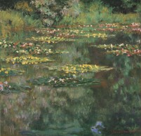 The Water Lily Pond, 1904