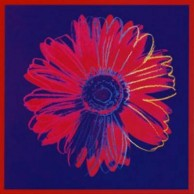 Daisy, c. 1982 (Blue and Red)