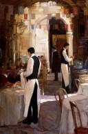 Two Waiters, Place des Vosges