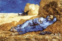 Midday Rest (After Millet) c.1890