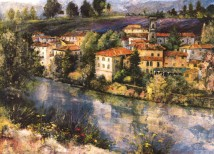 Village on the Arno