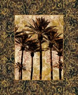 Palm Collage II