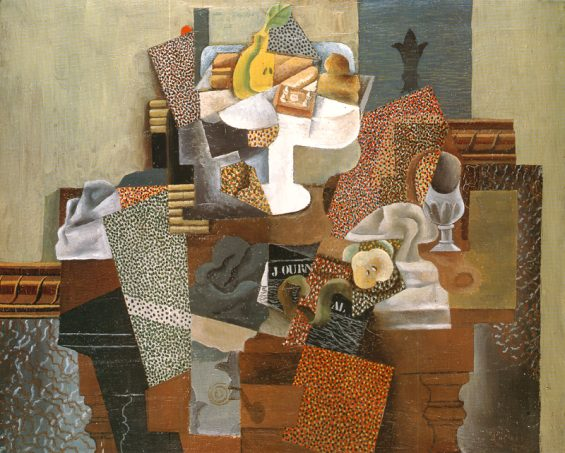 StillLifeWithCompoteAndGlass-Picasso