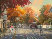 AutumnOnMackinacIsland ThomasKinkade 40-30