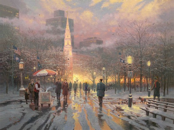 BostonCelebration ThomasKinkade 40-30