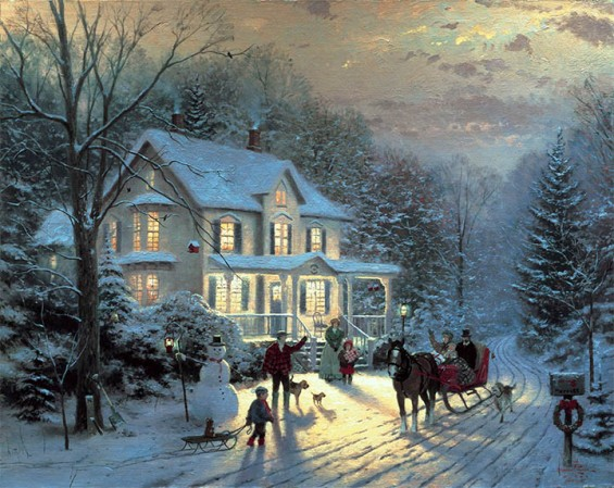 HomeForTheHolidays ThomasKinkade 42-33