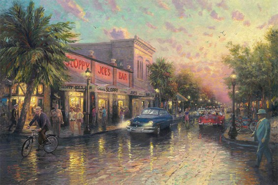 KeyWest ThomasKinkade 42-28
