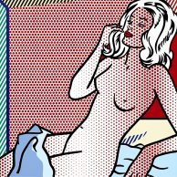 Nude Sunbathing Roy Lichtenstein LOW
