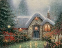 TheWoodsmanThatch ThomasKinkade 42-32