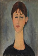 Amedeo_Modigliani_-_Portrait_of_Mme_Zborowska_-_Google_Art_Project
