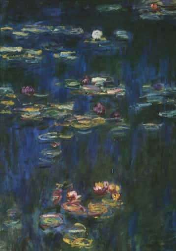 RefletsVerts Monet