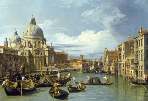 Canaletto - The Entrance To The Grand Canal Venice