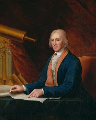 Charles Willson Peale - David Rittenhouse
