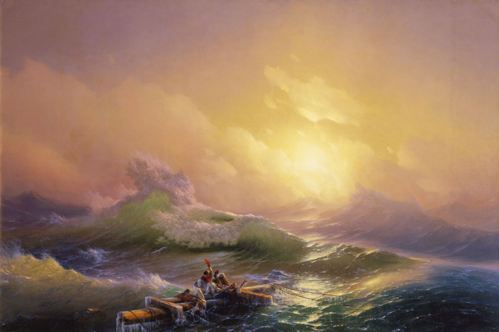 Hovhannes Aivazovsky - The Ninth Wave