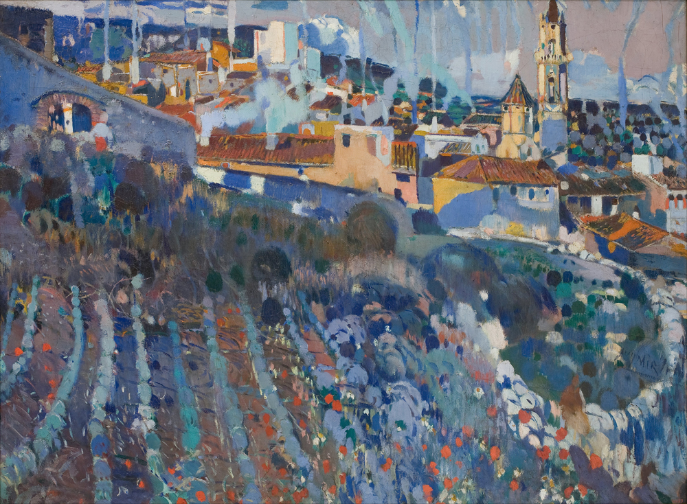 Joaquim Mir - Terraced Village