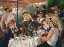 38x28 Luncheon of the Boating Party Pierre-Auguste Renoir