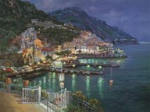Amalfi Evening Sam Park