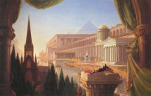 The Architects Dream Thomas Cole