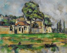 Banks of the Marne Paul Cézanne LOW