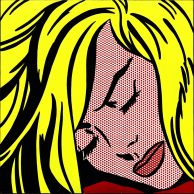 Sleeping Girl Roy Lichtenstein LOW