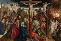 The Crucifixion, 1450 Dreux Bude LOW