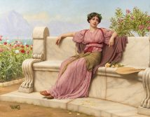 Tranquillity 1914, John William Godward low