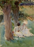 Under the Willows John Singer Sargent LOW