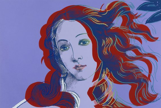 CH828027 Details of Renaissance Paintings: One Plate, 1984 (screenprint in colours on arches aquarelle) by Warhol, Andy (1928-87); 635x940mm cm; Private Collection; (add.info.: Details of Renaissance Paintings: One Plate. Andy Warhol (1930-1987). Screenprint in colours on Arches Aquarelle. Executed in 1984. 635 x 940mm.); Photo © Christie's Images; American,  in copyright  PLEASE NOTE: This image is protected by the artist's copyright which needs to be cleared by you. If you require assistance in clearing permission we will be pleased to help you.
