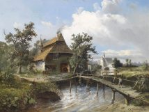 Carl Georg Köster Wrought by the stream