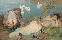 Endormies Sleeping Rupert Bunny LOW