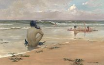 Sea idyll Rupert Bunny LOW