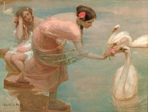 summer morning Rupert Bunny LOW