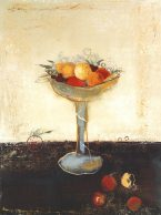 36x48 BOL DE FRUIT by MARY CALKINS