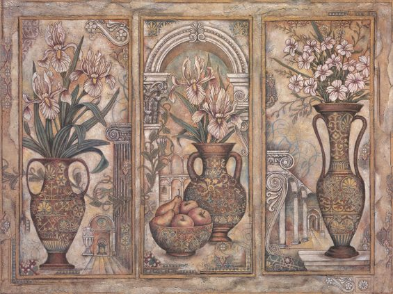 Amphora Triptych Arnold Iger Low