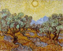 Olive Trees Vincent Van Gogh LOW
