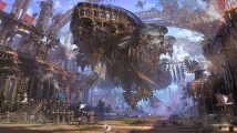 Ruined Steampunk Airship