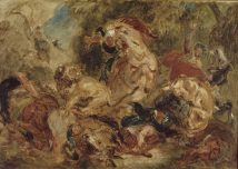 Eugène_Delacroix The_Lion_Hunt ATC