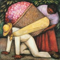 Flower Carrier Diego Rivera