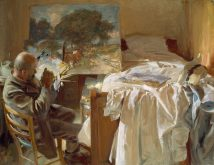 John_Singer_Sargent An_Artist_in_His_Studio 40x29