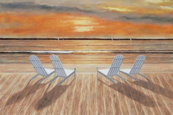 Sunset for Four (Giclee)