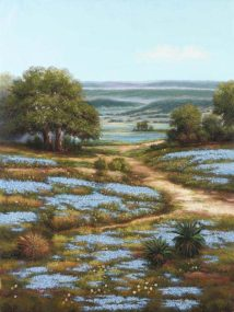 Valley of the Bluebells I (Giclee)