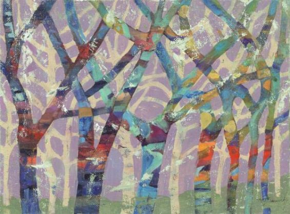 Tree Party II (Giclee)
