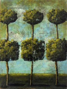 Topiary Triad (Giclee)